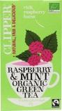 Afbeelding vanClipper Framboos mint green tea (20 zakjes)