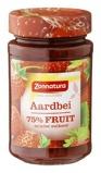 Afbeelding vanZonnatura Fruitspread aardbei 75% (250 gram)