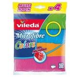 Afbeelding vanVileda Microvezel Doeken Colors 4 pack, 1 stuks