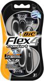 Afbeelding vanBic Flex 4 comfort mesjes blister 3 stuks