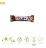Afbeelding vanLifefood Rawsage Original Hartige Snackreep Bio, 25 gram