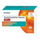 Afbeelding vanSanias Acetylcysteine 600 Mg, 30 Bruistabletten