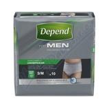Afbeelding vanDepend Comfort Protect Pants voor Mannen Super Maat S/M 10ST