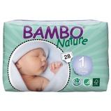 Afbeelding vanBambo Babyluier Mini 1 2 4 Kg, 28 stuks