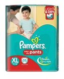 Afbeelding vanPampers Baby Dry Pants Xl S6, 32 stuks