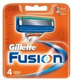 Afbeelding vanGillette Fusion scheermesjes 4 stuks