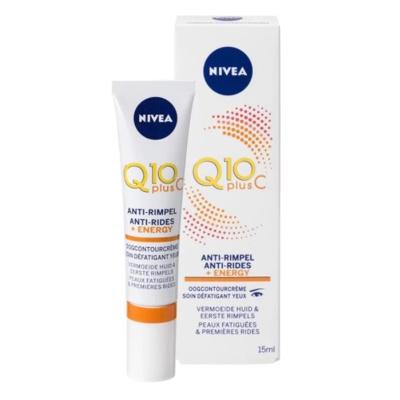 Afbeelding van Nivea Q10 Plus C Anti Rimpel +Energy Verkwikkende Oogcontourcreme 15 ml