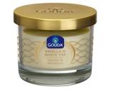 Afbeelding vanGouda Gevuld geurglas ivoor/vanille/witte thee 66/80 1 stuk