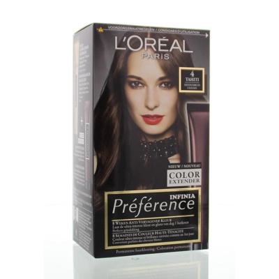Afbeelding van L'Oréal Paris Preference tahiti middenbruin 004 1st