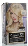 Afbeelding vanL'Oréal Paris Preference blondissimes 01 natuurlijk blond 174 ml
