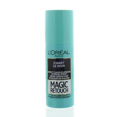 Afbeelding van L'Oréal Paris Coloration Magic Retouch uitgroei camoufleerspray Zwart