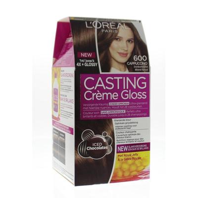 Afbeelding van L'Oréal Paris Casting creme gloss haarverf donkerblond 600 verp