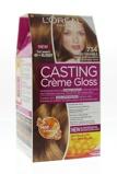 Afbeelding vanL'Oréal Paris Casting creme gloss haarverf goudkoperblond 734 verp