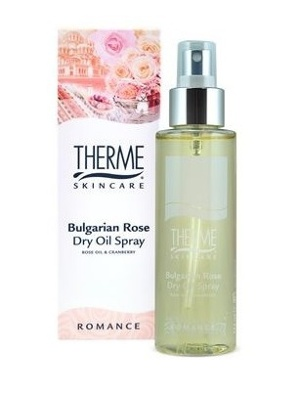 Afbeelding van 6x Therme Dry Oil Spray Bulgarian Rose 125 ml