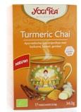 Afbeelding vanYogi tea Curcuma / turmeric chai bio (17 zakjes)