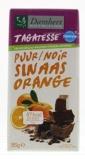 Afbeelding vanDamhert Chocoladetablet No Sugar Added/orange (85g)