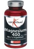 Afbeelding vanLucovitaal Magnesium 400 met B6 en L tryptofaan (120 capsules)
