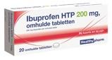 Afbeelding vanHealthypharm Healthy ibuprofen 200mg 20tab