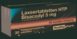 Afbeelding vanHealthypharm Bisacodyl 5mg Laxeertabletten
