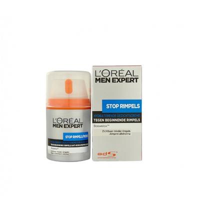 Afbeelding van L'Oréal Paris Men expert anti rimpel dagcreme stop rimpels 50ml