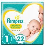 Afbeelding vanPampers New Baby Newborn Maat 1, 22 stuks