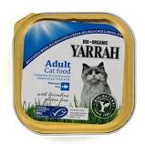 Afbeelding vanYarrah Bio Kuipje Brokjes Kattenvoer Kip Haring 100 gr
