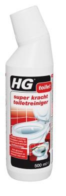 Afbeelding van Hg Super Kracht Toiletreiniger (500ml)