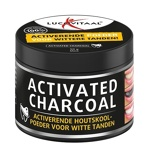 Afbeelding vanLucovitaal Activated Charcoal Houtskoolpoeder Supplement