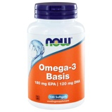 Afbeelding vanNow Omega 3 Basis 180Mg EPA 120Mg Dha (100Sft) ONW6189