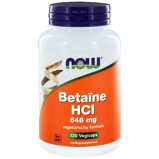 Afbeelding vanNow Betaine Hcl 648 Mg, 120 Veg. capsules