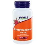 Afbeelding vanNow Foods Pantotheenzuur (vitamine B5) 100 Capsules