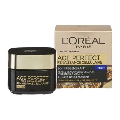 Afbeelding van L'Oréal Paris Skin Expert Age Perfect Cell Renaissance nachtverzorging 50 ml