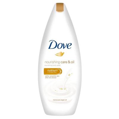 Afbeelding van Dove Douchecrème nourishing care & oil 250ml