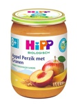 Afbeelding vanHipp Fruithapje 8 mnd Appel Perzik Granen 190 gr