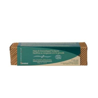 Afbeelding van Himalaya Herbals Kruidentandpasta Organique Neem & Granaatappel 150 gram