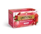 Afbeelding vanTwinings Thee rozenbottel & hibiscus 25st