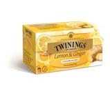 Afbeelding vanTwinings Infusions lemon ginger (25 zakjes)