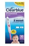 Afbeelding vanClearblue Digital ovulatietest 4 dagen (10 stuks)