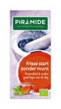 Afbeelding vanPiramide Frisse start zonder munt thee (20 zakjes)
