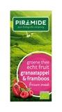 Afbeelding vanPiramide Groene thee granaatappel framboos (20 zakjes)