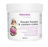 Afbeelding vanNaturalize Koude Handen En Voeten Creme (250ml)
