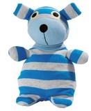 Afbeelding vanWarmies Hond blauw/grijs magnetronknuffel 1 stuk