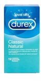 Afbeelding vanDurex Classic Natural condooms (12 stuks)