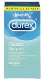 Afbeelding vanDurex Classic Natural 20st Standaard Condooms