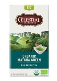 Afbeelding vanCelestial Seasonings Organic thee matcha green 20 stuks