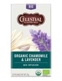 Afbeelding vanCelestial Seasonings Organic thee lavender & chamomile 20 stuks