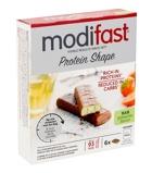 Afbeelding vanModifast Protein shape reep chocolade/pistache (162 gram)