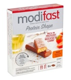 Afbeelding vanModifast ProtiPlus Reep Chocolade Karamel 6 x 27 gr