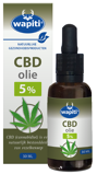 Afbeelding vanWapiti CBD Olie 5% (30 ml)