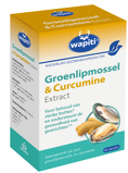 Afbeelding vanWapiti Groenlipmossel & Curcumine Extract Capsules 60CP